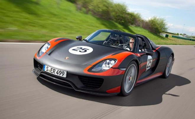 Image Source: Porsche 918 Spyder (press-porsche.com)