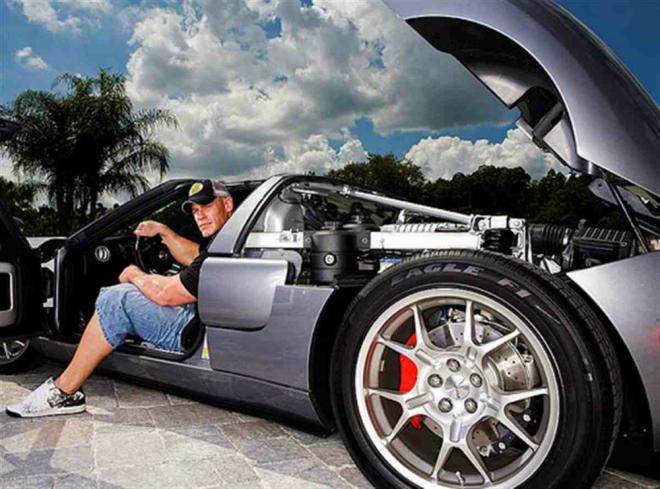 Cena's Car Collection