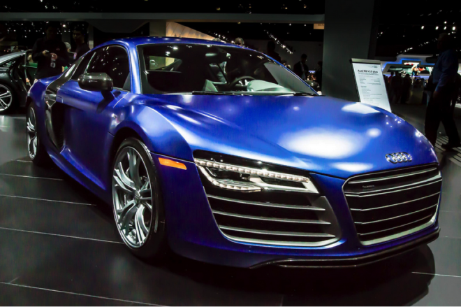 Audi R8 V10 lease