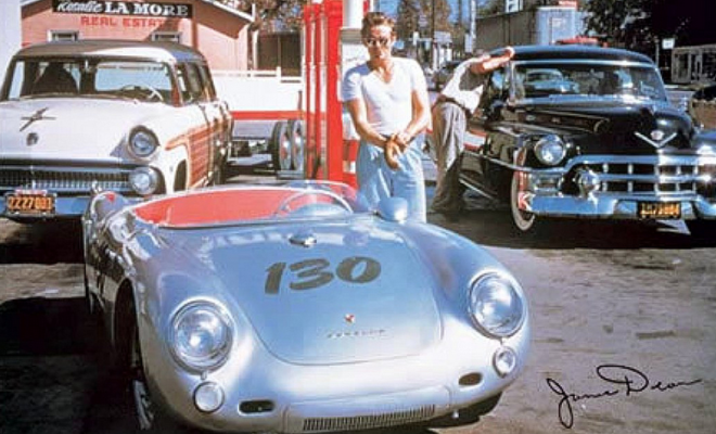 image source james dean porsche 550 spyder wwwselvedgeyardcom