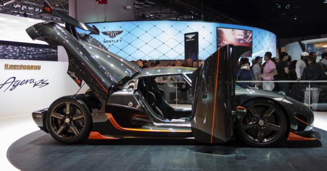 Koenigsegg Agera R Lease
