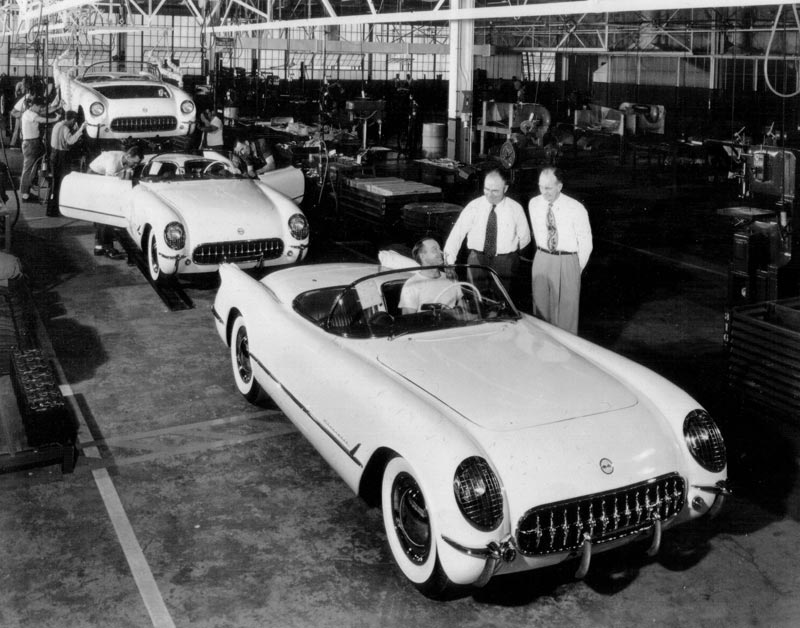 this day in history the first corvette premier financial services. Black Bedroom Furniture Sets. Home Design Ideas
