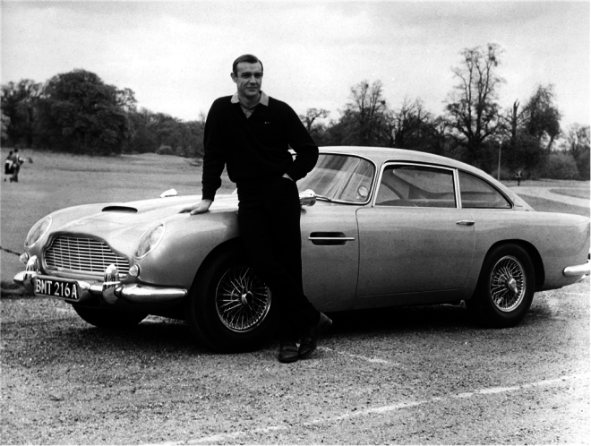 James Bond Car Lease