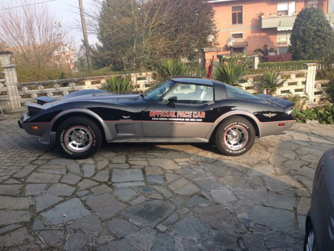Black 1978 Chevrolet Corvette