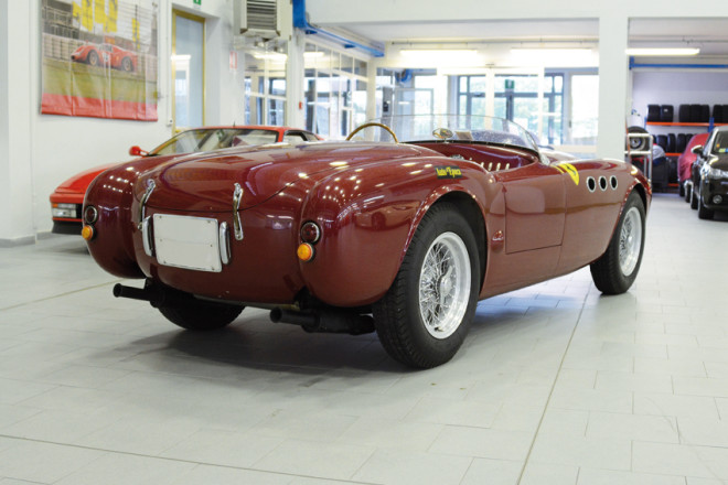 Red 1947 Ferrari 212 Inter Lease