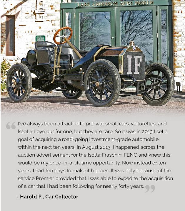 1908 Isotta Fraschini FENC Harold Peters