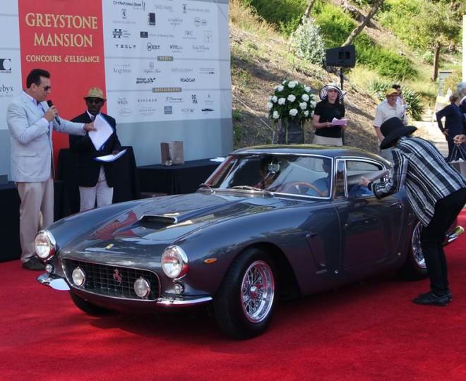 1962 Ferrari 250 GT SWB Berlinetta Wins the Concours