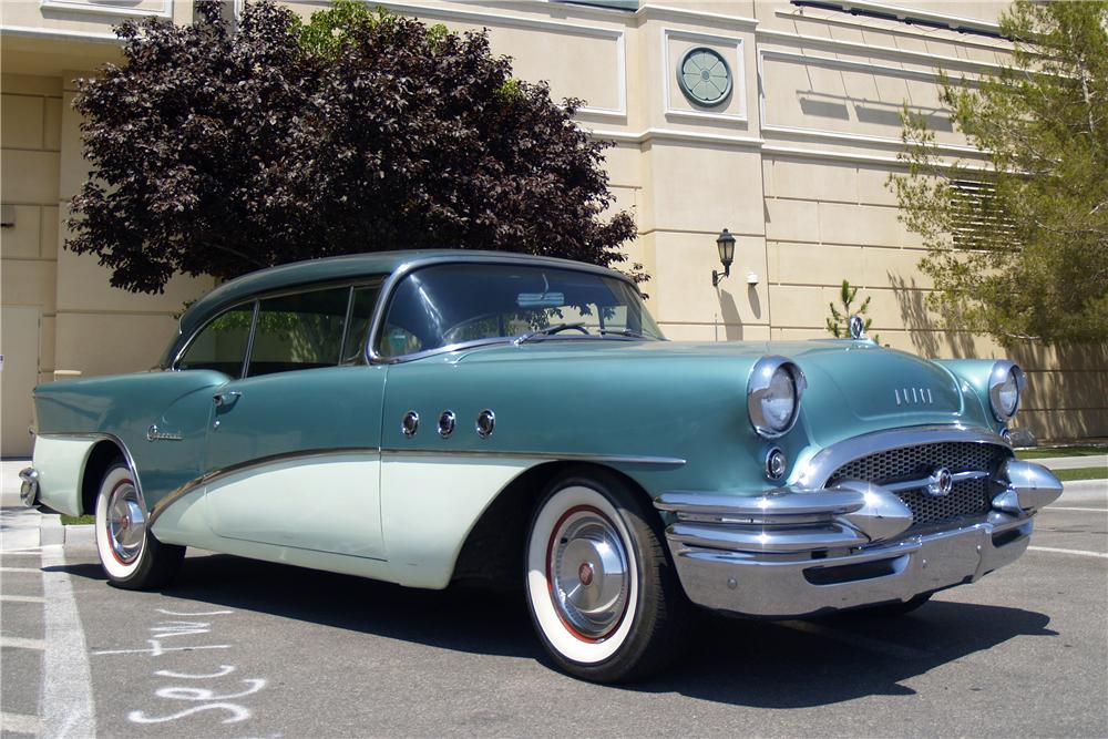 Cars to watch barrett jackson in las vegas premier for 1955 buick special 2 door
