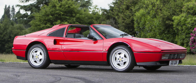 Image Source: 1989 Ferrari 328 GTS Targa (Bonhams)