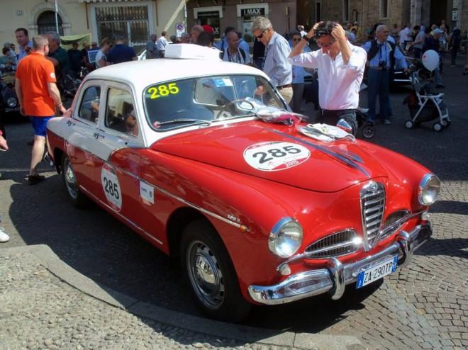 Mille Miglia 2015 Alfa Romeo 1900 Super TI