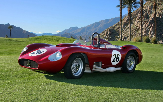 1957 Maserati 450S, loan a Maserati, lease an antique car
