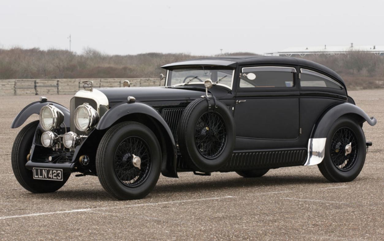 Black Bentley Speed Six E