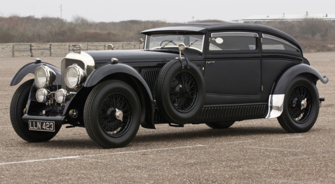 Side View of a Leaseable 1930 Bentley Speed Six
