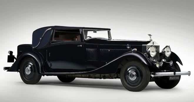 Lease a 1933 Rolls-Royce Phantom II Continental