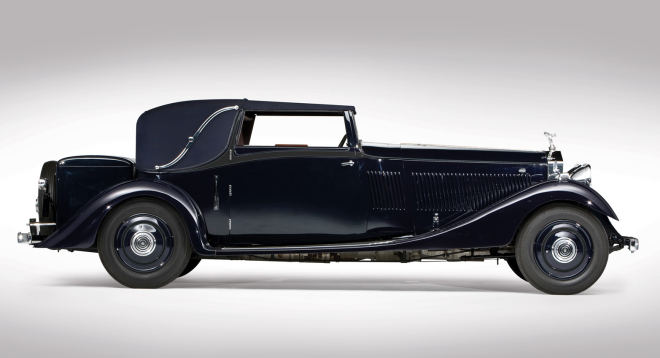 1933 Rolls-Royce Phantom II Continental Profile