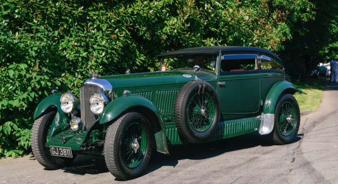 Race a train in a Bentley with the PFS Simple Lease