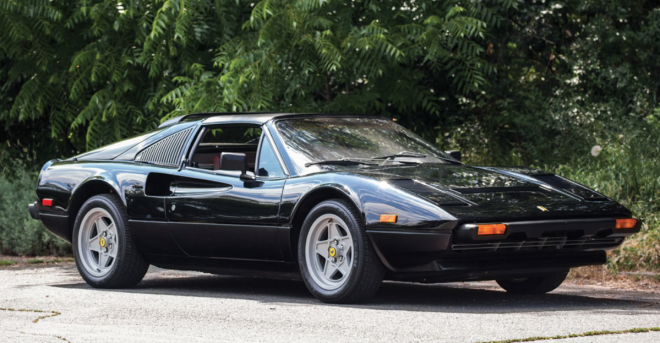 Black Ferrari 308 Lease