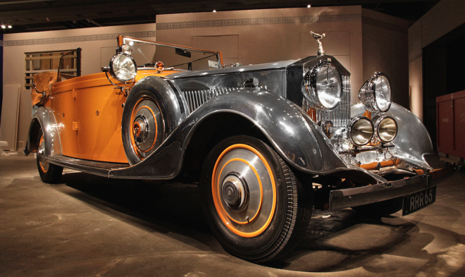 Vintage Lease: Rolls-Royce Phantom II Star Of India
