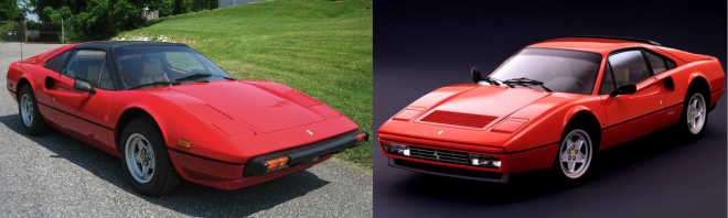 Ferrari 308 or 328 Lease it with PFS