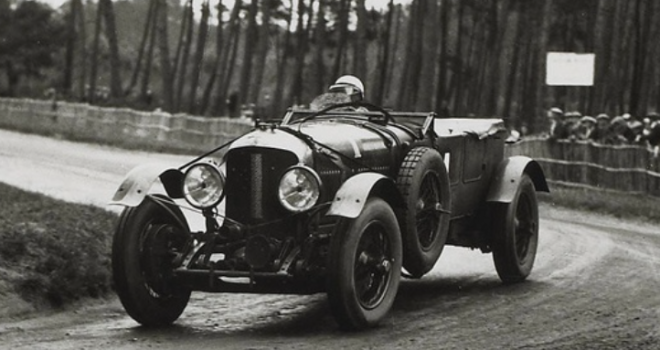 Race in Le Mans with a leased Bentley