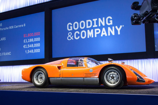 Classic Racecar crosses the block at Gooding & Company