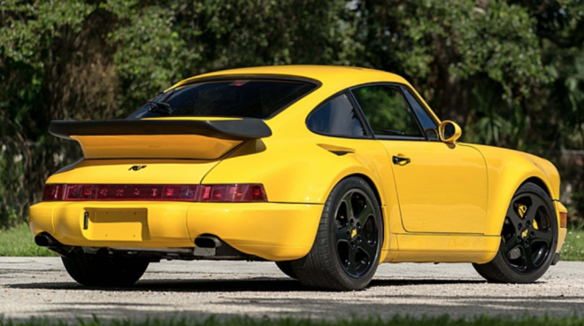 Lease a Porsche 964 Ruf CTR Yellowbird