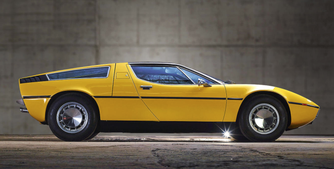 Lease a Yellow Maserati Bora with Premier Financial Services