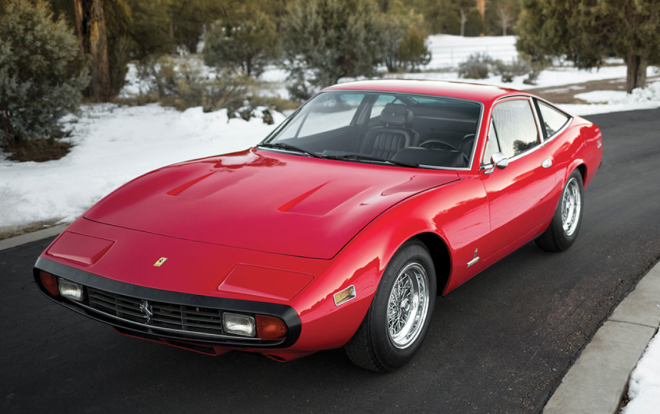 Lease a Red 1972 Ferrari 365 GTC/4