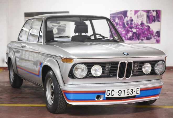 White 1974 BMW 2002 Turbo for lease