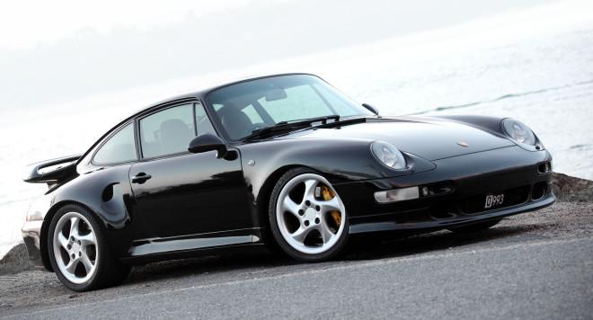 Lease a Black Porsche 911 993 Turbo