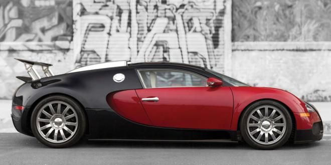 Black & Red Bugatti Veyron