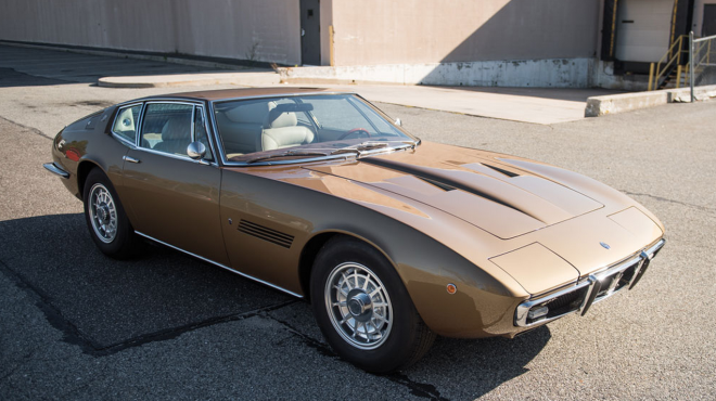 Lease a brown 1970 Maserati Ghibli SS
