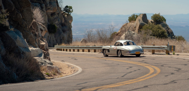 Lease a Mercedes 300SL to Rally in the Copperstate 1000
