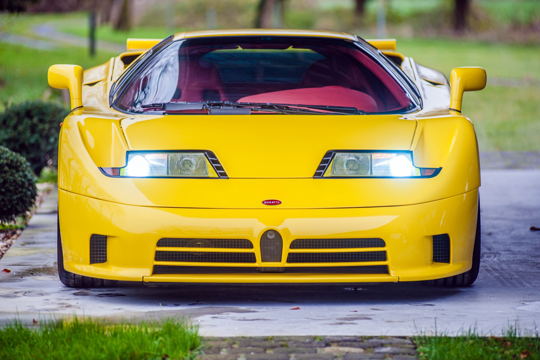 Model Perspective: Bugatti EB110 | Premier Financial Services