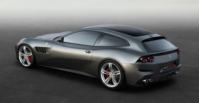 Lease a Ferrari GTC4Lusso in Silver