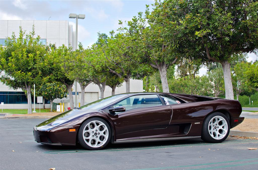 Vintage Corner Lamborghini Diablo Premier Financial Services