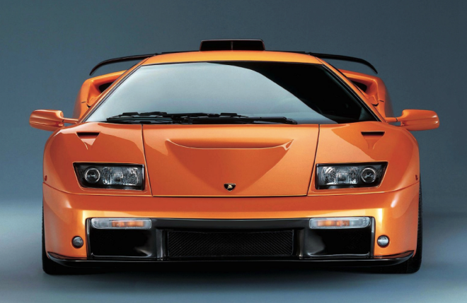 Front end of a Lamborghini Diablo financing