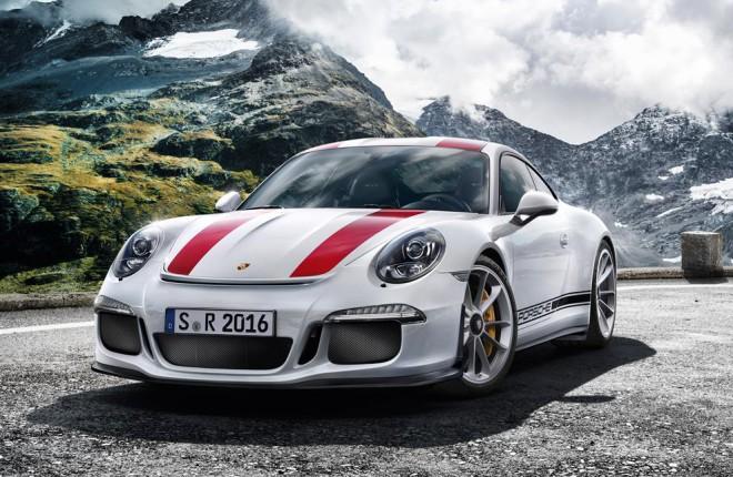 Porsche 911 R Lease