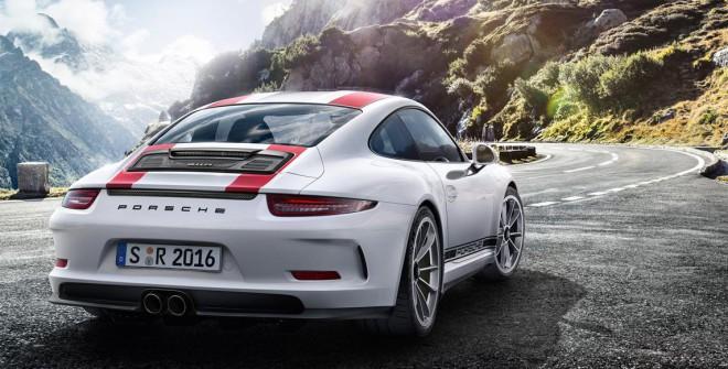 Lease a Red Porsche 911 R