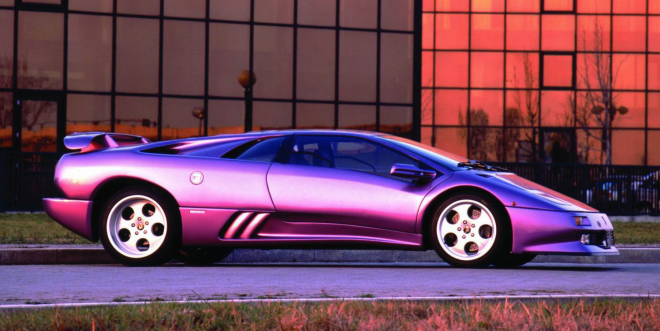 Lease a Purple Lamborghini 30th Anniversary