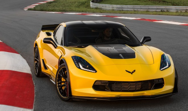 Yellow 2016 Corvette Z06 Financing
