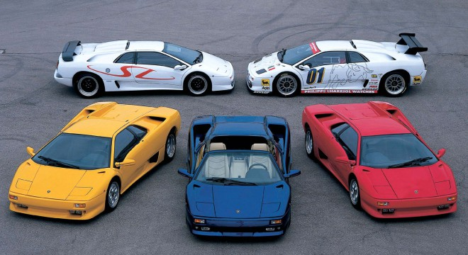 Lease Lamborghini Diablo road cars and race cars