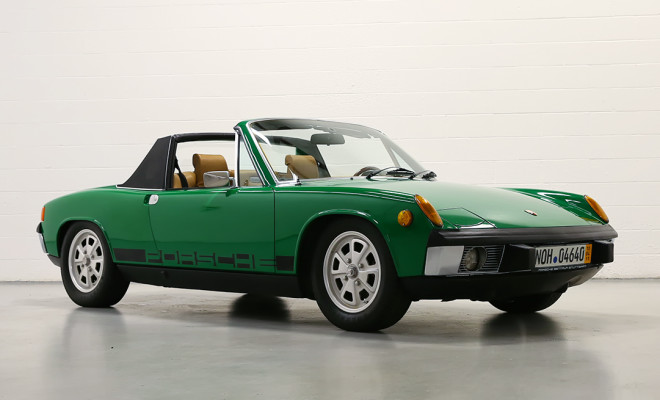 Lease a green Porsche 914-6 with Premier.
