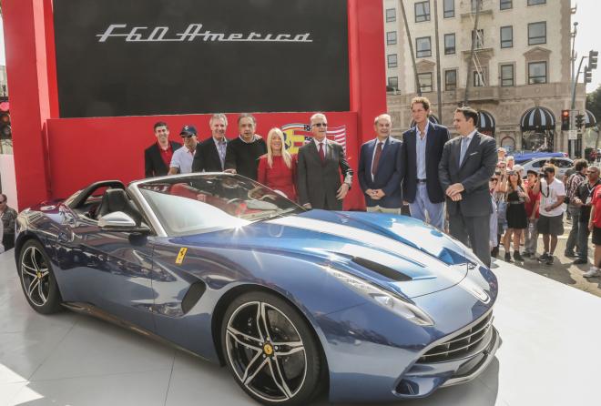 Ferrari F60 America Loan