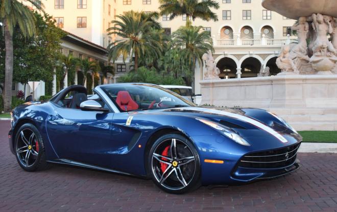 Ferrari F60 America Lease