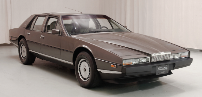 Lease a brown Aston Martin Lagonda