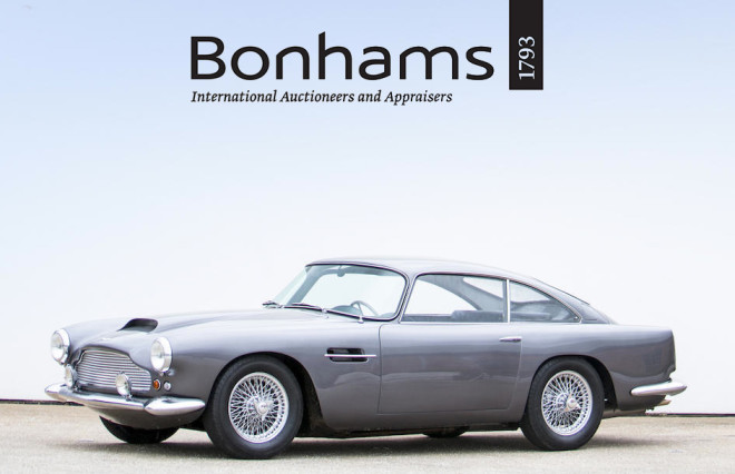 lease a car from Bonhams Aston Martin Sale