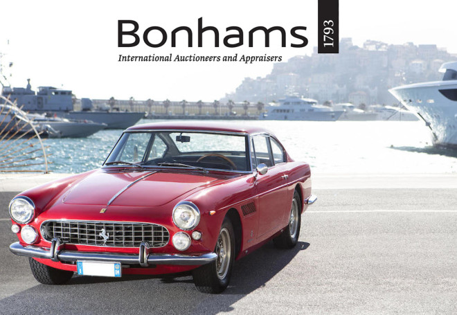 Lease a vintage car from Bonhams' Monaco auction.