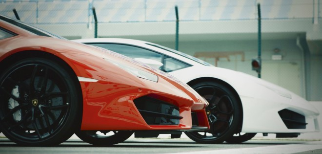 Financing for two Lamborghini Huracan LP 580-2s