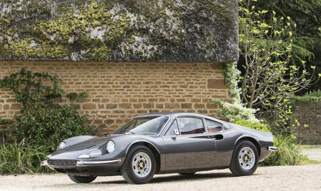 Lease a Ferrari 246 GT from the Bonhams auction